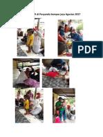 Print Foto Kegiatan SIDDTK Di Posyandu Kempas Jaya Agustus 2017