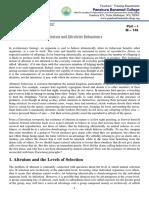 M - 146 Altruism and Altruistic Behaviour