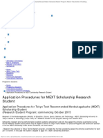 Application Procedures for MEXT Scholarship Research Student _ International Res