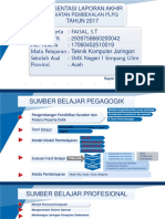 Presentasi Tugas Prakondisi (Faisal, S.T SMK N 1 Simpang Ulim)