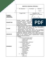 SPO Anestesi Regional ( EPIDURAL )