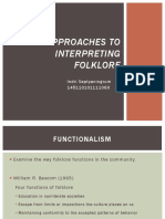 Indri Septyaningrum - Approaches to Interpreting Folklore