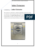 Machenical Production Washer Extractors