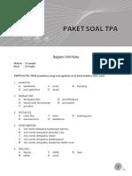 Soal CPNS Paket 10