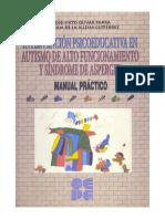 Intervención Psicopedagógica en Autismo de Alto Funcionamiento y Síndrome de Asperger Manual Práctico
