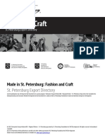 Made in St Petersburg - Fashion & Craft  Official St. Petersburg Export Directory Экспортёры Санкт-Петербурга