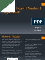 Presentasi Fisika_Hukum Newton