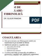 Noţiuni de Coagulare-fibrinoliză