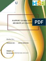 Rapport de Management Sante Et Securite Au Travail