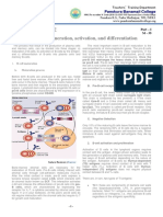 M - 35 B & T Cell Maturation and Proliferation