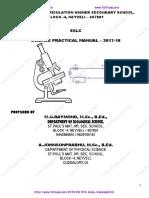 Padasalai Net 10th Science Practical Guide 2017 18