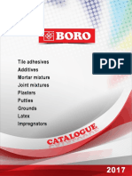 BORO Products Catalogue