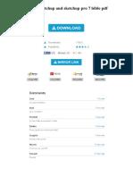 Google Sketchup and Sketchup Pro 7 Bible PDF
