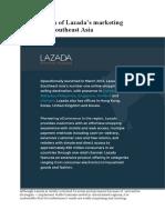 Effectiveness of Lazada