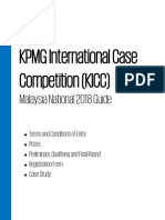KPMG International Case Competition KICC Malaysia National 2018 Guide-new