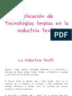 Tecnologías Limpias en la Industria Textil
