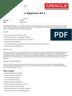 Mysql for Beginners Ed 3