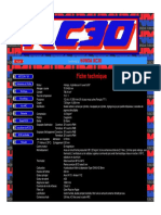 Fiche Technique Honda RC30