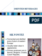 Other fermented Spirits