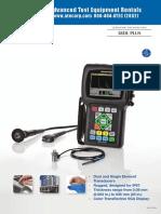 Panametrics 38DL Plus Datasheet