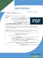 Carta Tecnica Contabilidad Bancos 940