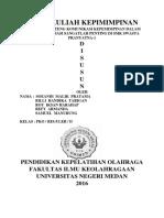 Projek Tenteng Komunikasi Kepemimpinan Soeandi