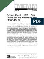Chopin Et Debussy