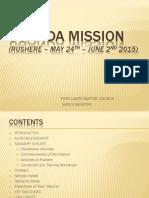 Uganda Mission Report