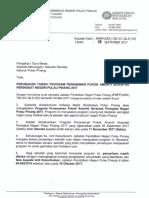 Perubahan Tarikh Program Penanaman Pokok Ameniti Peringkat Negeri Pulau Pinang (1)