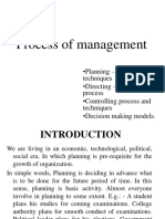 Unit 2 Process of Management