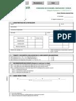 Ficha Tecnica Descriptiva Instalaciones Frigorificas