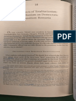 The Effects of Totalitarianism-cum-Sultanism on Democratic Transition Romania