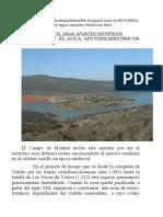 La Solana y El Agua. Apuntes Históricos