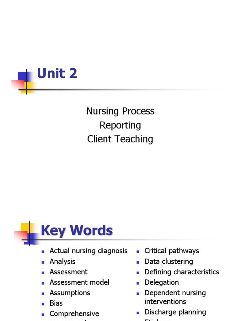 Week 2 Nursing Process | Blood Pressure | Medical ...