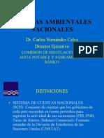 CUENTAS AMBIENTALES NACIONALES