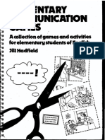 Elementary Communication Games (Teachers Resource Materials) 0175556954