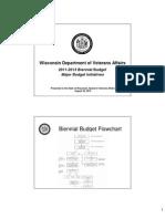 WDVA 2011-13 Budget Presentation to Board of Veterans Affairs Aug 20, 2010