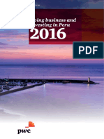 PWC - Doing Business in Peru 2016
