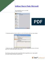 Cara Mengaktifkan Macro Pada Microsoft Excel 2007.pdf
