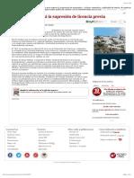 150124_Canarias recurrirá la supresión de licencia previa