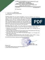 Surat Pelaksanaan UKG Ulang Tahap II