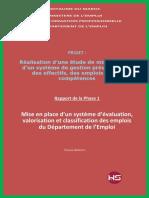 Rapport de La Phase 1 Version Finale