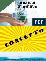 El Agua en Tacna Cta