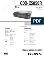 CDX-C5850R