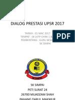 Dialog Prestasi Upsr 2017 Terkini
