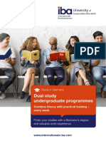 Dual study undergraduate programmes in Germany