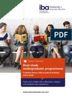 Dual study undergraduate programmes in Germany