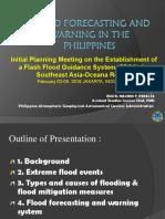 Philippines-Flood Forecasting Warning