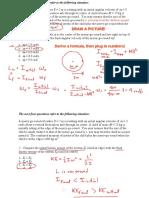 exercise of basic physics