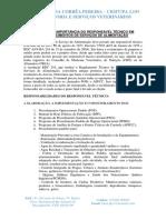Atividades e Importância Do Veterinário Como Responsável Técnico Em Estabelecimentos de Serviço de Alimentos